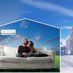 Инверторные сплит-системы для обогрева дома